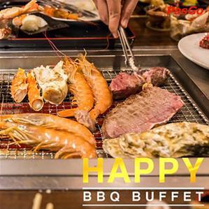 Nhà hàng Happy BBQ Buffet Bạch Đằng