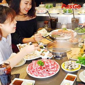 Nhà hàng Lẩu Băng Chuyền Kichi Kichi Linh Đàm