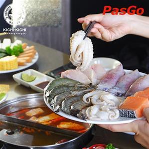 Nhà hàng Lẩu Băng Chuyền Kichi Kichi Trương Định