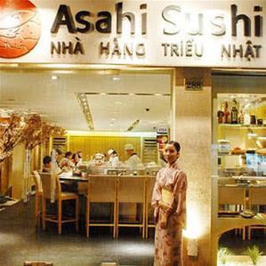 Nhà hàng Triều Nhật Asahi Sushi 288 Bà Triệu