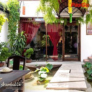 Shamballa Vegetarian Restaurant Lounge & Cafe Lý Tự Trọng