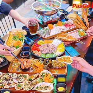 Tới Bến Food Garden Kênh Tân Hoá