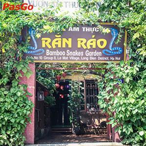 Vườn Ẩm Thực Rắn Ráo Việt Hưng