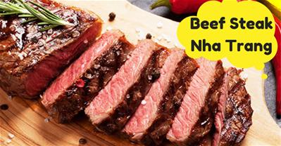 Bộ sưu tập các quán BÒ BÍT TẾT (Beef Steak) ngon tại Nha Trang