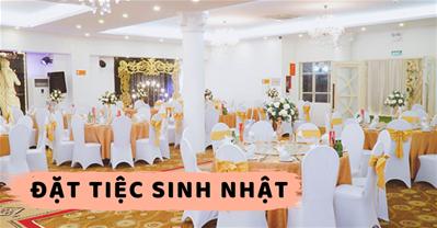 BST Nhà hàng CÓ ƯU ĐÃI đặt tiệc sinh nhật tại Quận Tây Hồ Hà Nội
