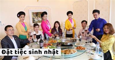 Các Nhà hàng có ưu đãi tổ chức sinh nhật, có phòng riêng tại Hà Nội