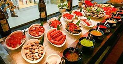 Các quán Buffet ngon nhất tại VINCOM BÀ TRIỆU Hà Nội, ƯU ĐÃI TỐT