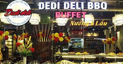 Chuỗi Dedi Deli BBQ - Buffet lẩu nướng đầy mời gọi