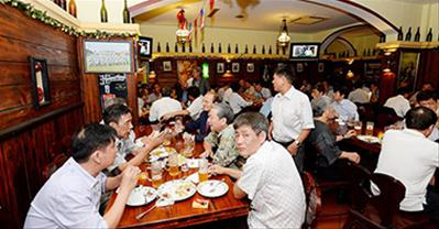 Chuỗi nhà hàng Hoa Viên Hà Nội – Bia Tiệp và món ngon Âu, Á