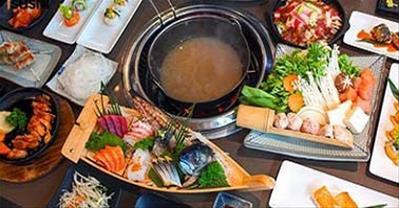 Danh sách nhà hàng buffet Nhật Bản ngon, chuẩn vị nhất Hà Nội