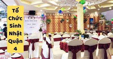 Những quán ăn ngon Sài Gòn phù hợp tổ chức sinh nhật ở Quận 4