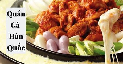 Tổng hợp các nhà hàng chuyên món GÀ Hàn Quốc ngon nhất tại Hà Nội