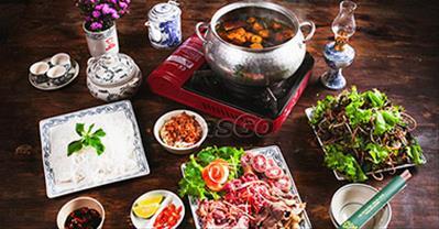 Top 7 quán lẩu riêu cua bắp bò ngon rẻ, hút khách nhất ở Hà Nội