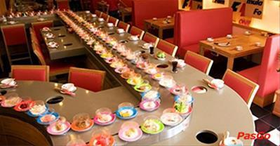 Top nhà hàng buffet lẩu băng chuyền ngon, nổi tiếng nhất ở Hà Nội