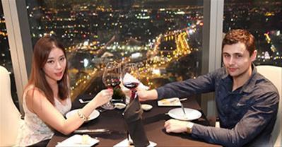 Top nhà hàng không gian lãng mạn cho dịp VALENTINE 14/2 ở TpHCM