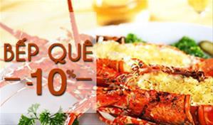 Bếp Quê – Đa dạng món ngon từ hải sản tươi sống