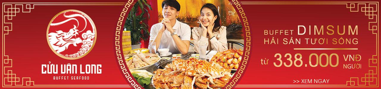 Buffet Hải sản & Dimsum Cửu Vân Long - Buffet hải sản phong cách Á Đông