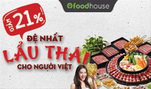 Chuỗi nhà hàng Food House - Đệ nhất lẩu Thái