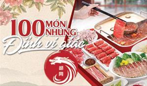 Chuỗi nhà hàng Hutong - Buffet lẩu Hong Kong 100 món nhúng đỉnh vị giác