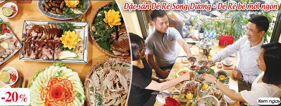 Đặc sản Dê Ré Song Dương - Dê Ré bé mới ngon