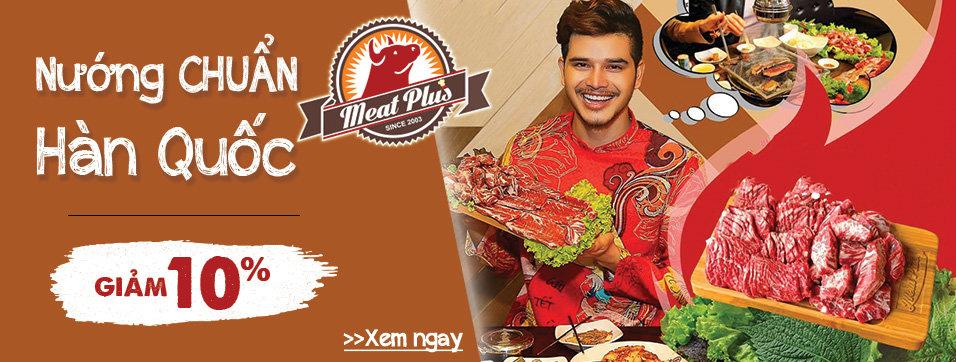 Meat Plus 4+4 - Nướng chuẩn vị Hàn