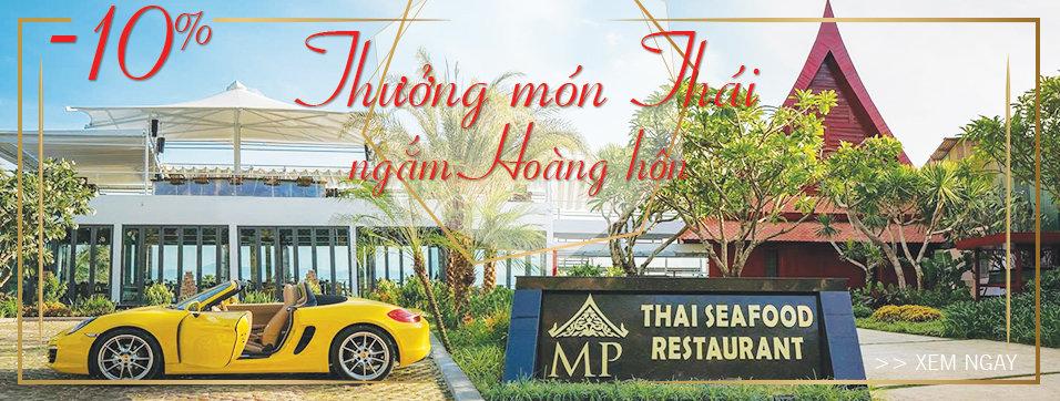MP Thai Seafood Restaurant - Thưởng món Thái, ngắm hoàng hôn