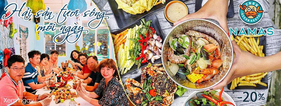 Namas Seafood Restaurant & Bar - Hải sản tươi sống mỗi ngày