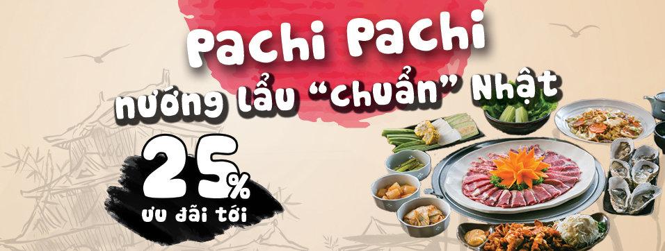 Pachi Pachi - Nướng lẩu