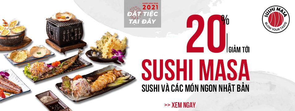 Sushi Masa - Sushi và Các món ngon Nhật Bản