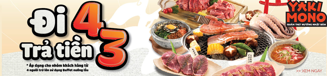 Yakimono - Đại hội thịt nướng Nhật Bản
