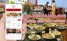 Chọn nhà hàng dễ dàng, tin cậy mà không cần đọc review?
