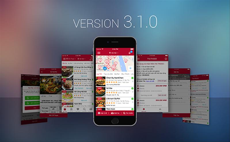Nâng cấp giao diện app PASGO – Bước tăng tốc đột phá