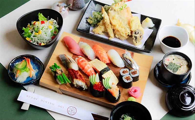 Sushi Dining Aoi – Góc ẩm thực Nhật giữa Sài thành