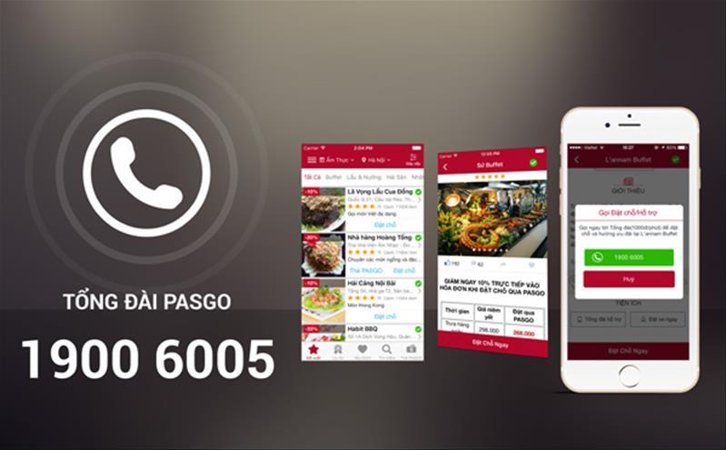 Ứng dụng thông minh PASGO thay đổi Tổng đài tư vấn